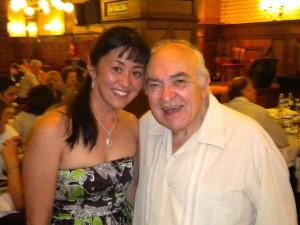 Yuko with Alberto Podestá (2012).